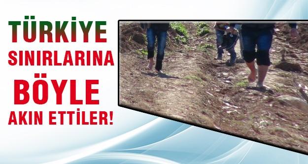 Türkmenler yalın ayak kaçtılar!