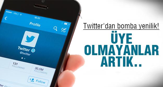 Twitter bombayı patlattı!
