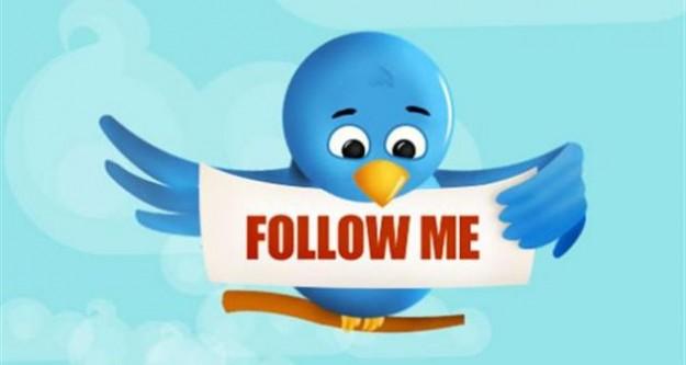 Twitter onu takip ediyor!