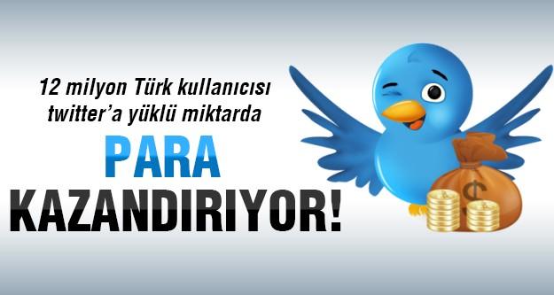 Twitter'ın Türk kullanıcılarından kazandığı o rakam!