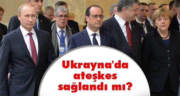 Ukrayna'da ateşkes!