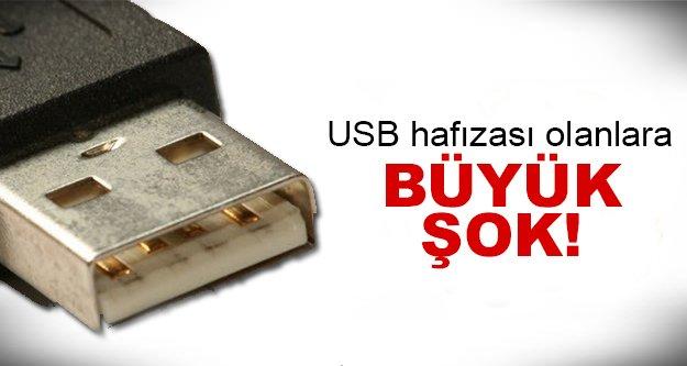 USB hafızalarda büyük tehlike!