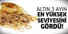 Altın tutulamıyor!