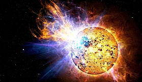 Güneş'te Kozmik olay yaşanmış...