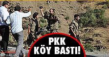 PKK'dan köy katliamı!