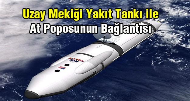 Uzay mekiklerinin yakıt tankı neden genişletilemiyor?