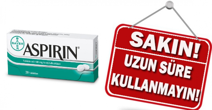 Uzun süreli aspirin kullanımında körlük riski