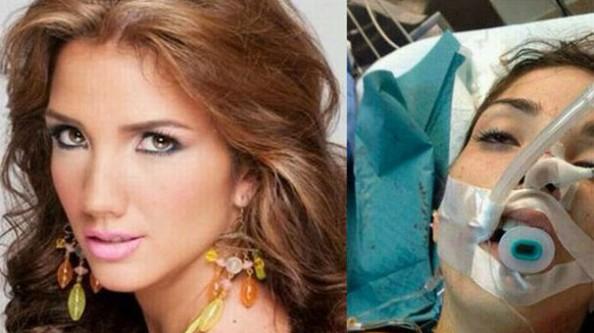 Venezuela güzellik kraliçesi gösteride öldürüldü!