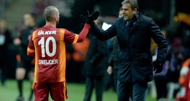 Wesley Sneijder'den mutlusu yok