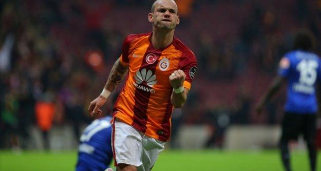 Wesley Sneijder'e vur emri