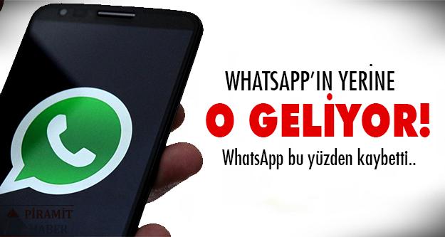 WhatsApp'a büyük şok!