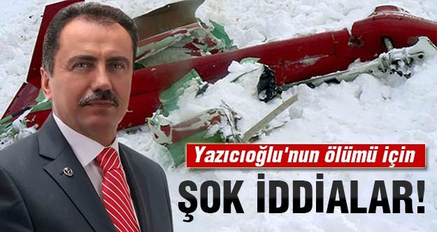 Yazıcıoğlu kazası suikast miydi?
