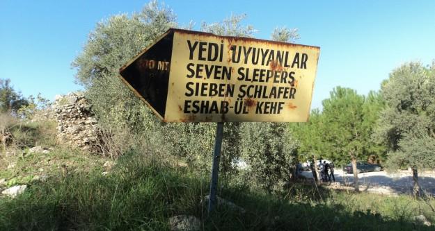 Selçuk Efeste bulunan yedi uyuyanlar