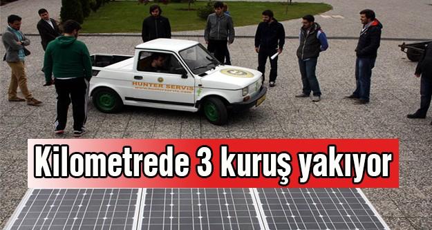 Yerli otomobil 'Çınar' kilometrede 3 kuruş yakıyor