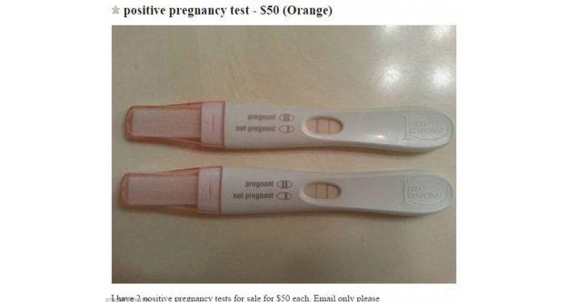 Yok artık! Pozitif hamilelik testi..