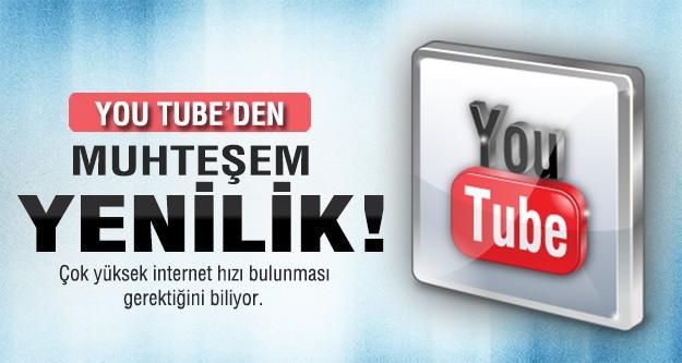 YouTube'da 4K video dönemi!