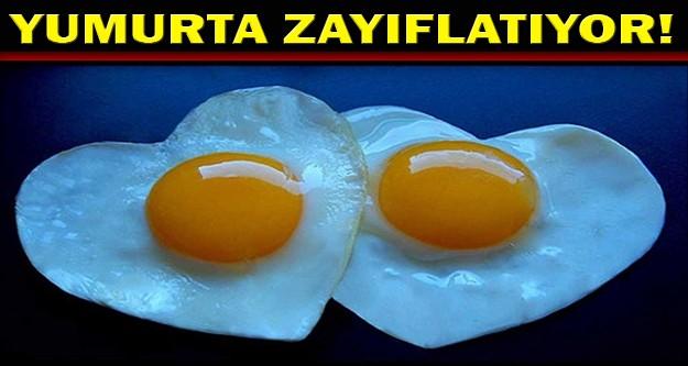 Yumurta zayıflama dostu!