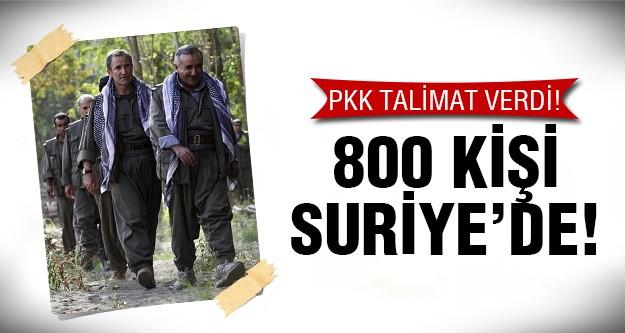 Yüzlerce kişi Türkiye'den Suriye'ye geçti!