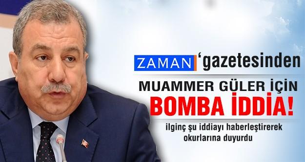 Zaman Gazetesi'nden İçişleri Bakanı için müthiş iddia