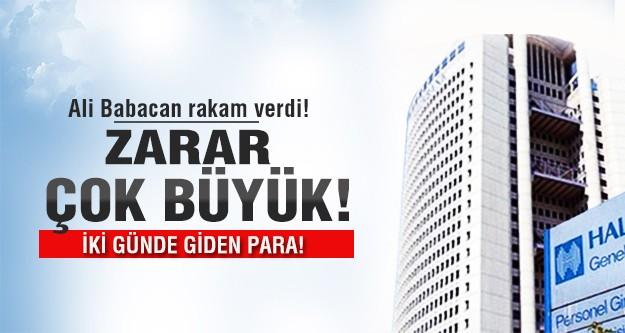 Zarar çok büyük! Operasyon Halk Bankasını vurdu!