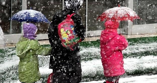 Zonguldak'ta eğitime kar engeli