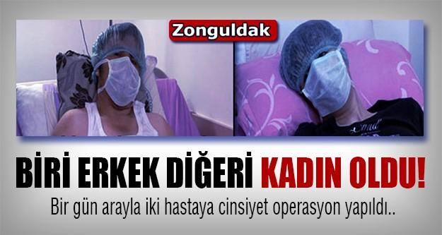 Zonguldak'ta iki çarpıcı operasyon...