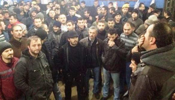 Zonguldak'ta madenci eylemi!