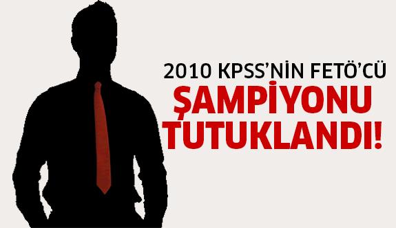 2010 KPSS rekortmeni bakın kim çıktı!