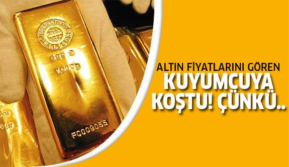 Altın fiyatları şaşırtmaya devam ediyor!