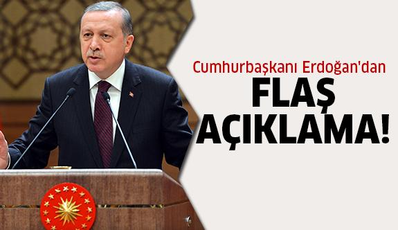 Erdoğan'dan Cerablus açıklaması!