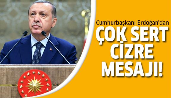 Erdoğan'dan son dakika açıklama!