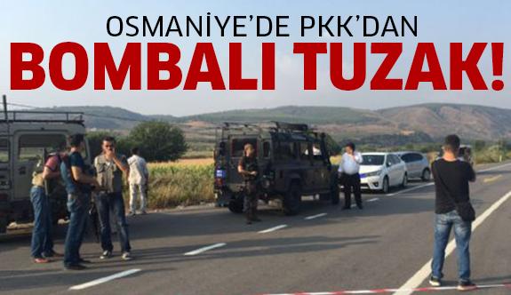 PKK'dan polis aracına saldırı!
