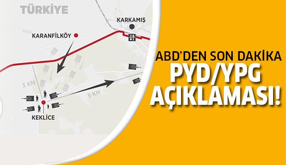 PYD/YPG'nin Fırat'ın doğusuna çekildi!