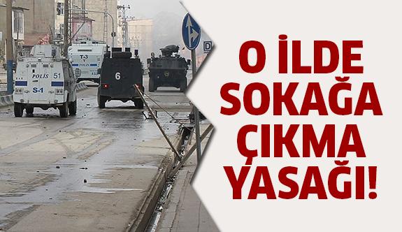 Tunceli'de sokağa çıkma yasağı!