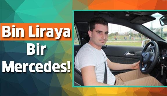 Bin Liraya 115 Bin Liralık Mercedes Kazandı