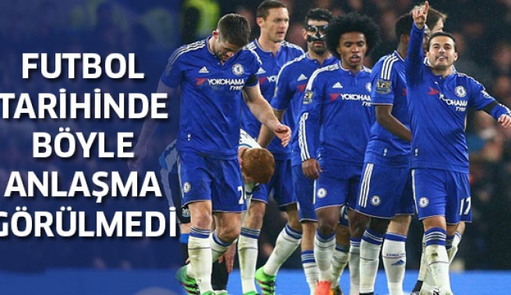 Chelsea'nin Yeni Sponsorluk Anlaşması