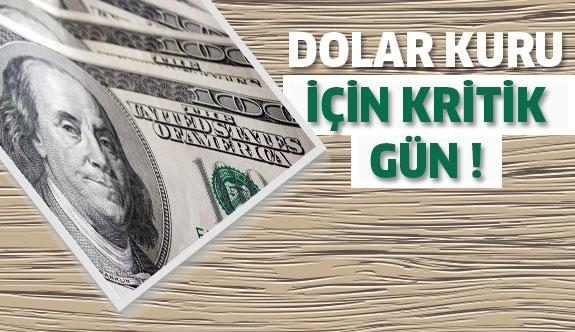 Dolar kuru için kritik gün!