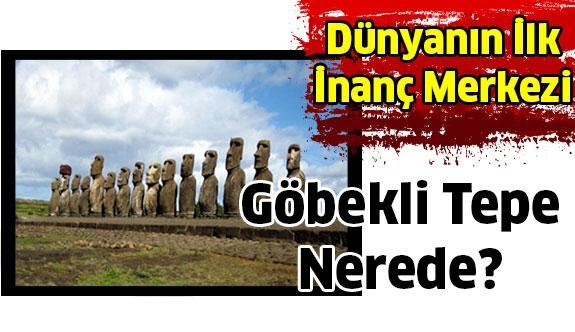 Dünyanın İlk Tapınağı Göbekli Tepe Nerede?