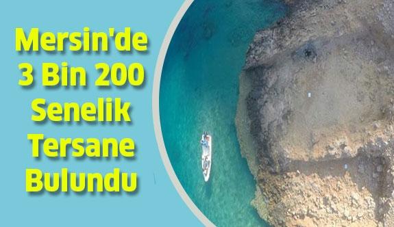 Mersin'de 3 Bin 200 Senelik Tersane Bulundu...