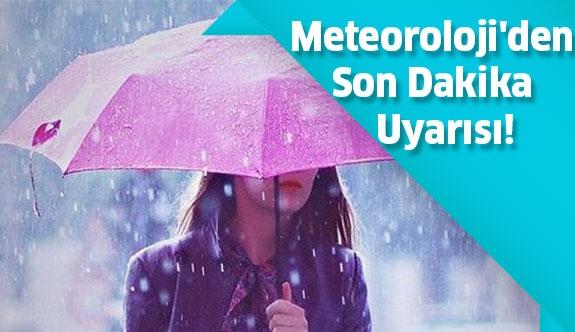 Meteoroloji 11 İlde Fırtına Uyarısında Bulundu!