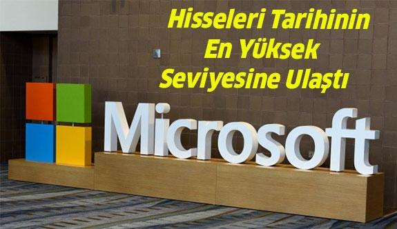 Microsoft Hisseleri İnanılmaz Rekor Kırdı...