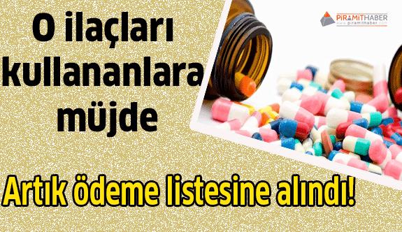 O ilaçları kullananlara müjde