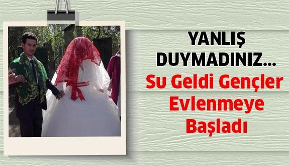 Su Sıkıntısı Bitti , Gençler Evlenmeye Başladı...