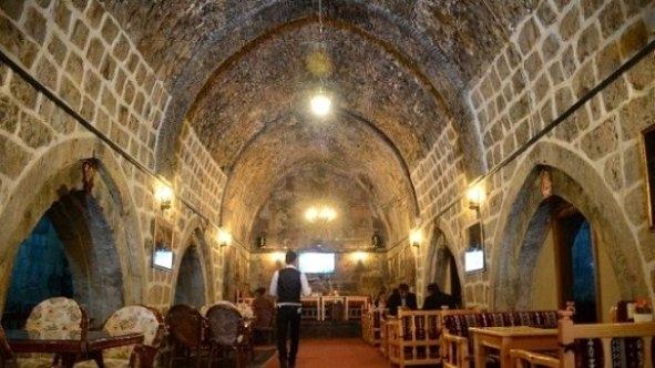 Tarihi Hanın Restorana Dönüşümü..