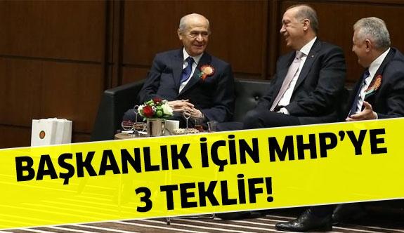 AK Parti'den MHP'ye 3 teklif!