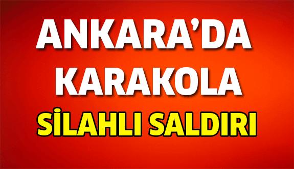 Ankara'da Polis Karakoluna Saldırı!