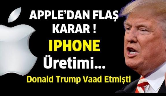 Apple, Iphone üretimini taşıyabilir!