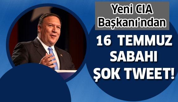 CIA Başkanı adayından şok tweet!