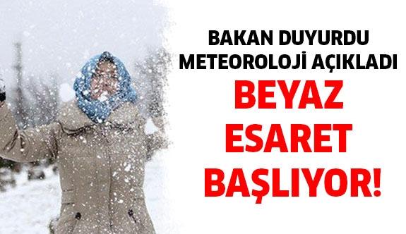 Hava durumuna dikkat! Meteoroloji tarih verdi...