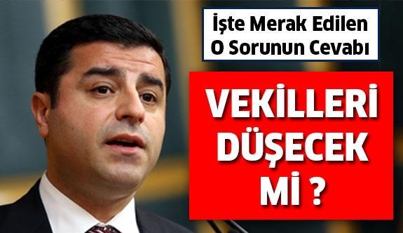 HDP'liler Meclis'teki  birleşime katılmazsa ne olur?